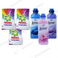 Ariel Color automat 2 kg 3buc Lenor 1L Spring Moonlight Floral 1