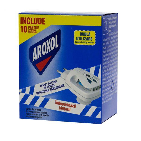 Aroxol aparat electric cu pastile