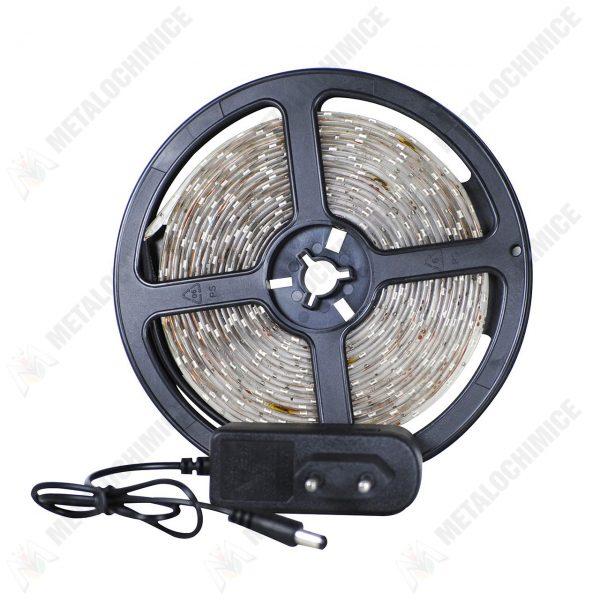 Banda-LED-rosu,-12V-2