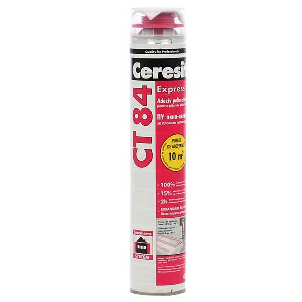Ceresit Express CT 84 adeziv spuma poliuretanica pentru polistiren 850 ml
