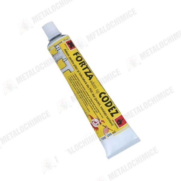 Codez Adeziv tevi PVC instalatii sanitare 50 ml 10buc 2