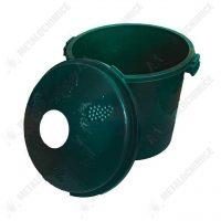 Cos damigeana 10 litri din PVC, verde  din categoria Damigene sticla