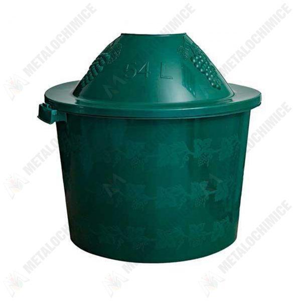 Cos-damigeana-54-litri-din-plastic-verde-1