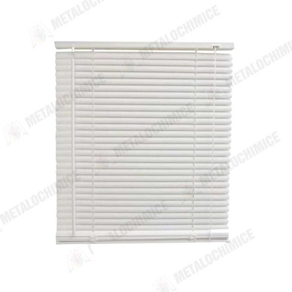 Jaluzea opaca pentru termopan orizontala din PVC Alb 65×120 cm
