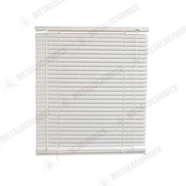 Jaluzea orizontala din plastic PVC alb 65x110cm 1