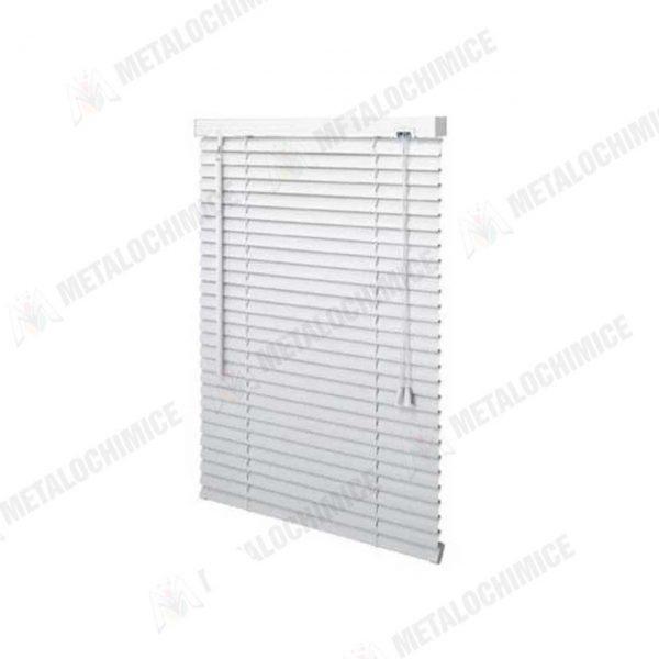 Jaluzele PVC Plastic orizontale albe 35x140cm 2buc 3