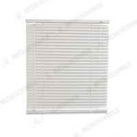 Jaluzele albe din PVC de interior 80 x 120cm 2 buc 2