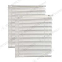 Jaluzele orizontale PVC albe 30 x 110cm 2 bucati 1