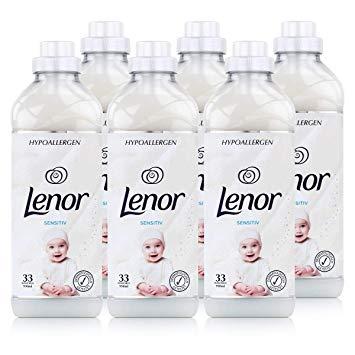 Lenor Sensitive Hypoallergenic Pachet