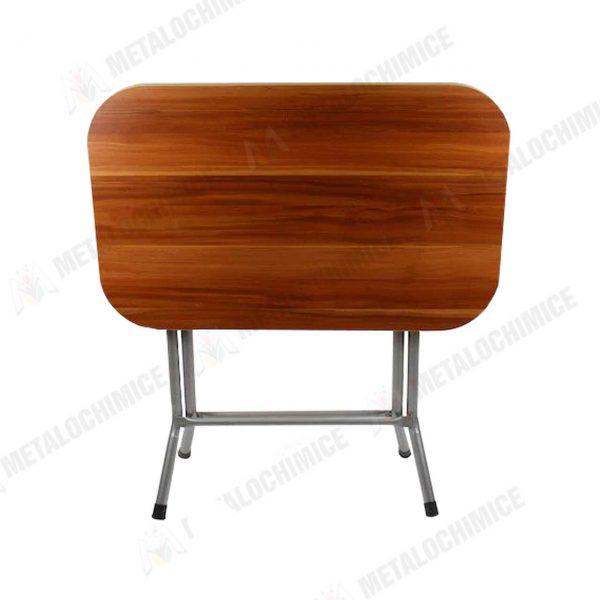 Masa plianta din lemn pal melaminat 60×90 cm 1
