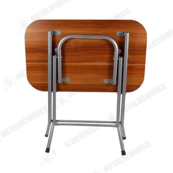 Masa plianta din lemn pal melaminat 60×90 cm 2