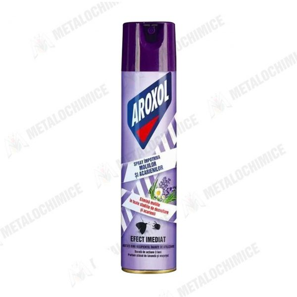 Naftalina fulgi 50g 20buc Aroxol spray molii si acarieni 250ml 2buc 2