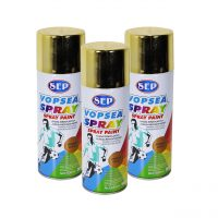 Pachet 3 bucati - Vopsea spray, Sep chrome, bronz auriu, 400 ml  din categoria Spray-uri