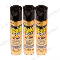 Raid MAX 3 in 1 Spray pentru insecte taratoare 300ml 3 buc 1