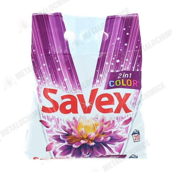 Savex 2in1 Color detergent automat rufe 2kg 3 buc 2
