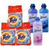 Tide Lenor Detergent automat 2kg, 3buc + Lenor Balsam 1L Spring, Moonlight, Floral