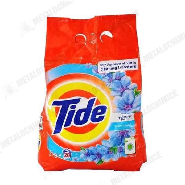 Tide Lenor Detergent automat 2kg 3buc Lenor Balsam 1L Spring Moonlight Floral 2