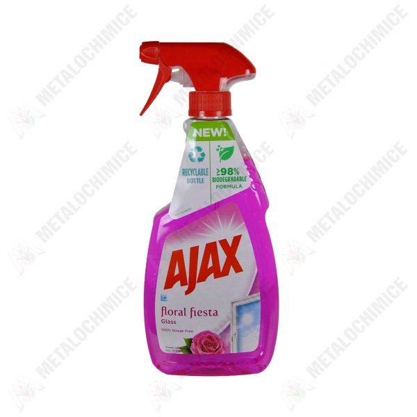 ajax floral fiesta solutie geamuri cu pulverizator 500 ml