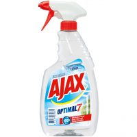 Ajax Optimal 7 super effect cu pulverizator  din categoria Solutii geamuri si oglinzi