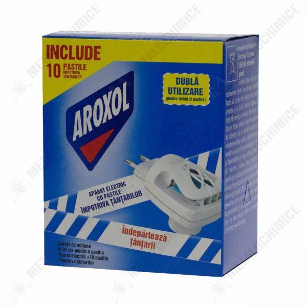 aroxol aparat tantari electric cu 10 pastile 4 cutii 2