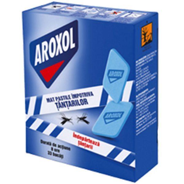 Pachet 5 cutii - Aroxol Pastile/Tablete impotriva tantarilor, mustelor, pentru aparat electric, 5 X 30buc/cutie  din categoria Pastile Tantari