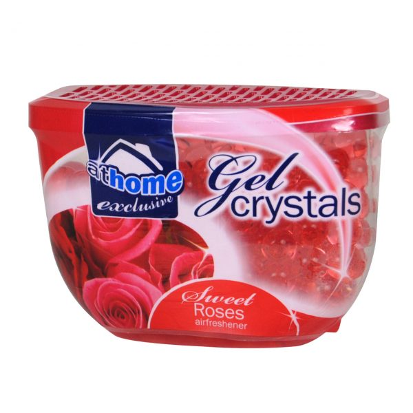 Odorizant camera At Home Cristale gel Trandafiri 150g