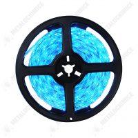 banda led 12v albastra interior 5m siliconata autoadeziva 1