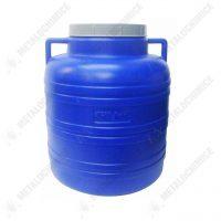 Bidon plastic 20 litri, rotund  din categoria Butoaie plastic