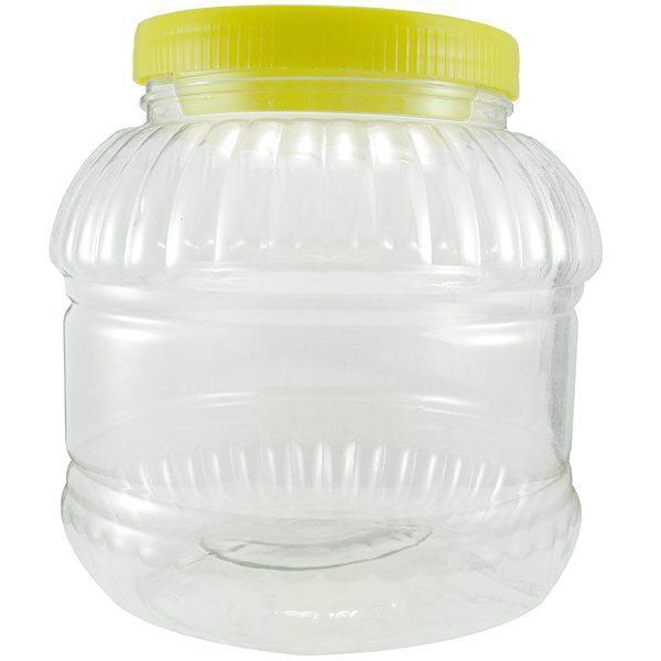 Borcan din plastic cu capac, Pachet 21x2L