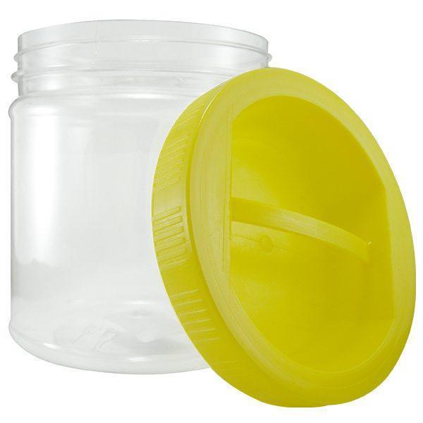 Borcan plastic 1 L