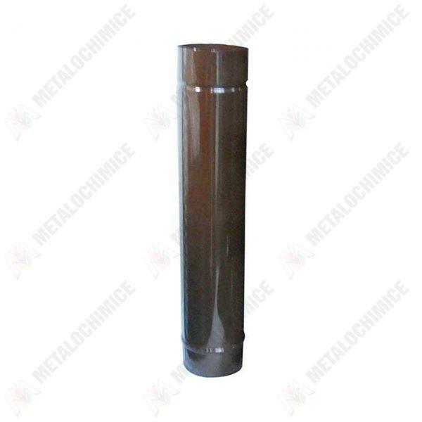 burlan-soba-lemne-din-tabla-emailata-130-mm-maro-1