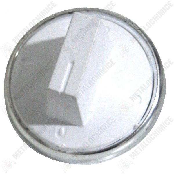 Buton alb pentru aragaz