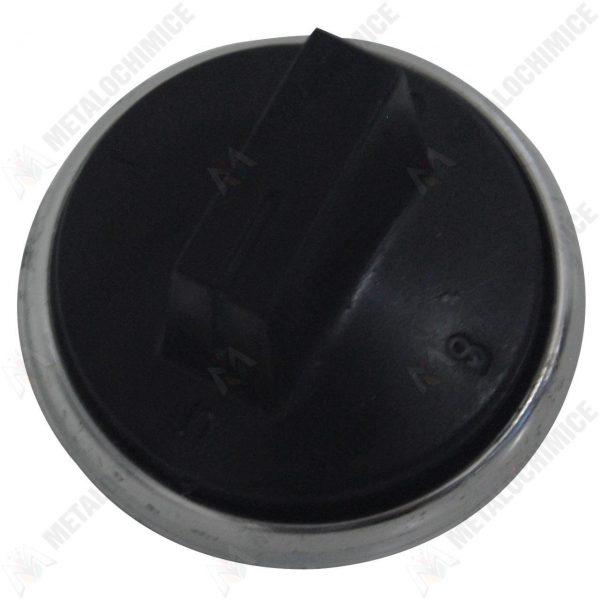 Buton negru pentru aragaz
