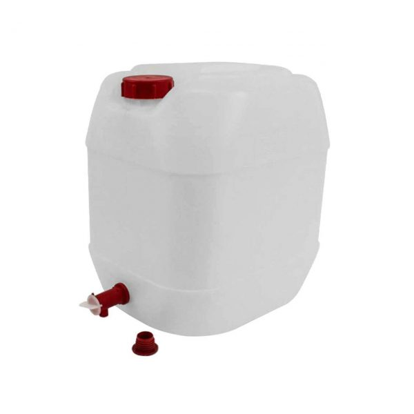 canistra plastic 30 l cu robinet alba 2