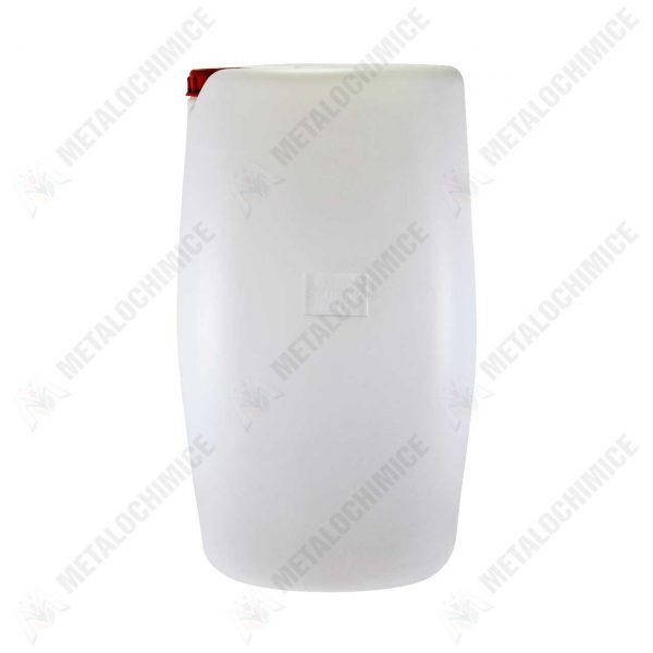 canistra plastic 60 litri cu capac alba 1