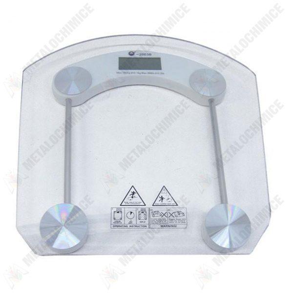cantar de baie electronic din sticla 180 kg 1