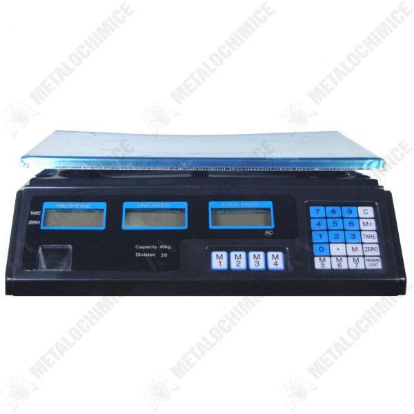 Cantar electronic de bucatarie digital pentru alimente, 40 kg  din categoria Cantare