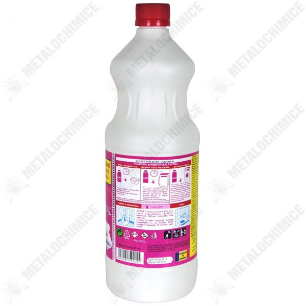 Cloret inalbitor parfumat 1 L