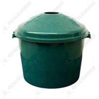 cos plastic damigeana 50l verde 1