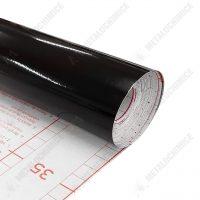 d c fix autocolant negru cu aspect lucios 45 cm 1