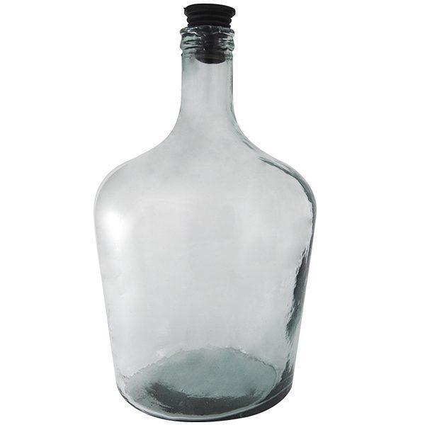 Pachet - 2 x Damigeana 10L din sticla, In cos din plastic + 2 x Dop etansare + 2 x Dop cu serpentina + 2 x Dop cu furtun + 1 x Perie damigeana + 1 x palnie + 1.5m furtun pentru tras vinul