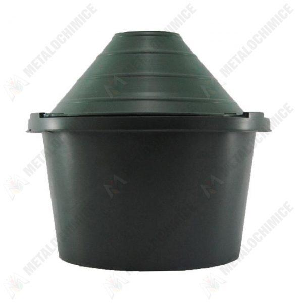 damigeana 5l dop cauciuc cos din plastic verde 3