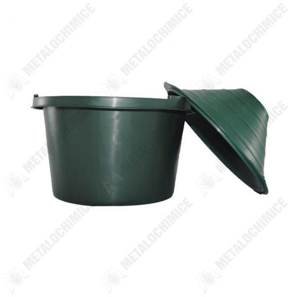 damigeana 5l dop cauciuc cos din plastic verde 5