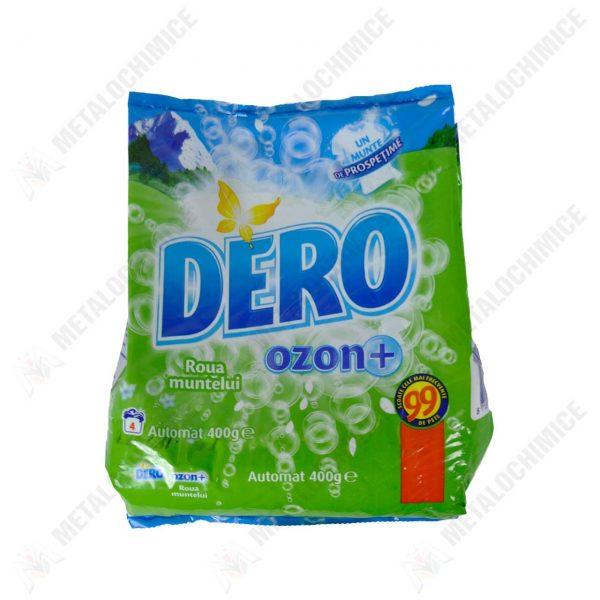 dero ozon plus detergent automat roua muntelui 400 g 1