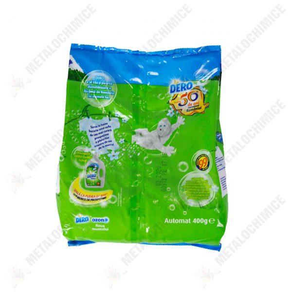 dero ozon plus detergent automat roua muntelui 400 g 2