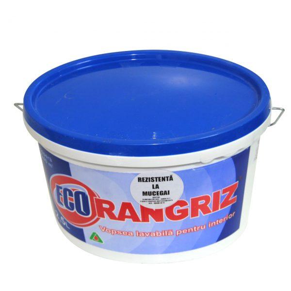 Vopsea lavabila Ecorangriz de interior 2.5 L