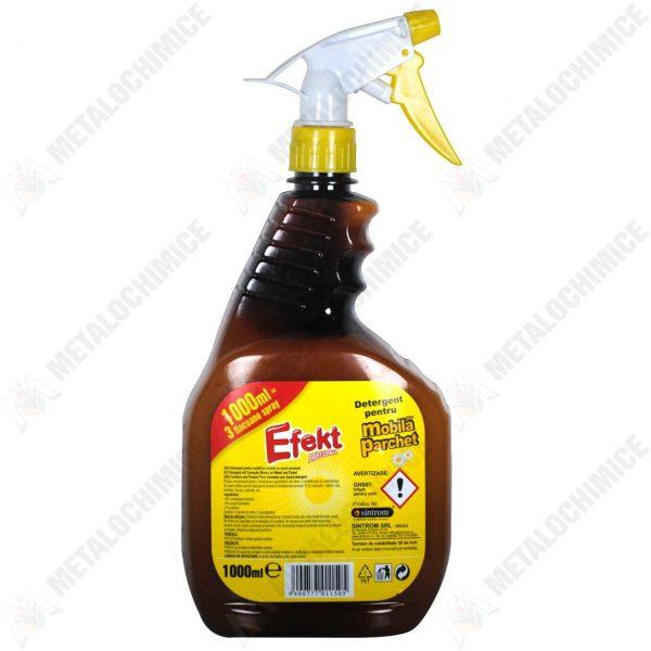 Efekt detergent cu ceara pentru mobila si parchet 1000ml