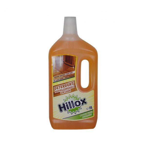 hillox detergent pentru pardoseli din lemn 1 l 1