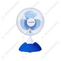 mini ventilator de birou silentios 25w alb albastru 1