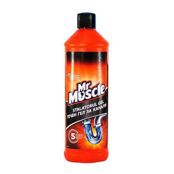 mr muscle gel desfundat tevi baie bucatarie 1000 ml 2